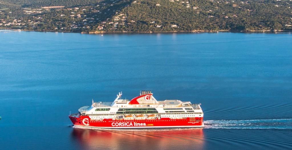 Les compagnies maritimes entre la Corse et le continent.