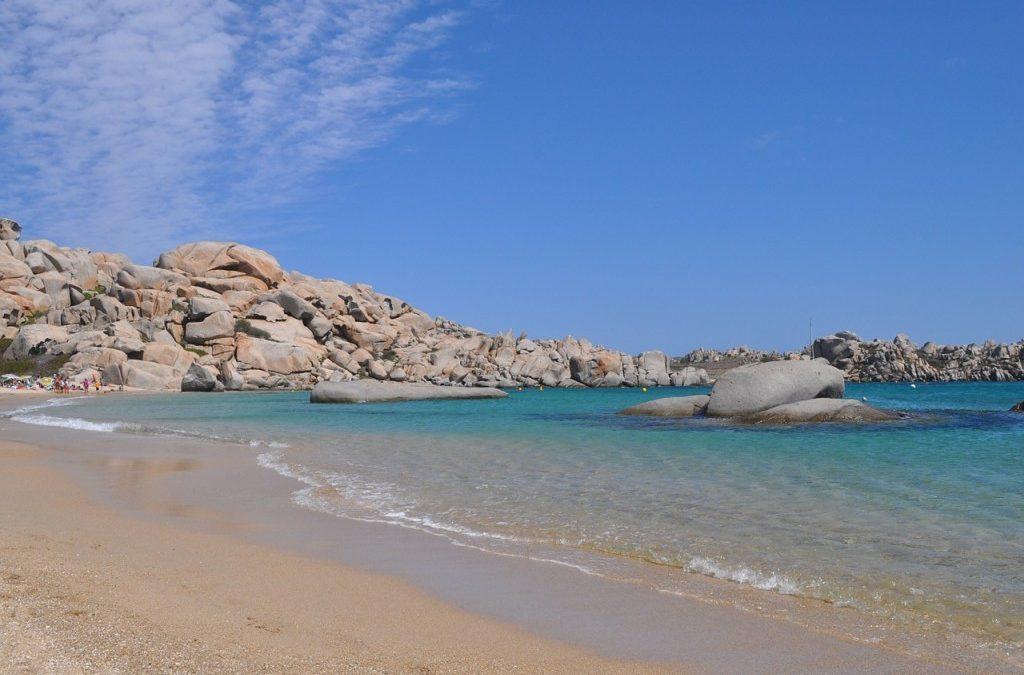La Corse du Sud côté mer et côté terre.